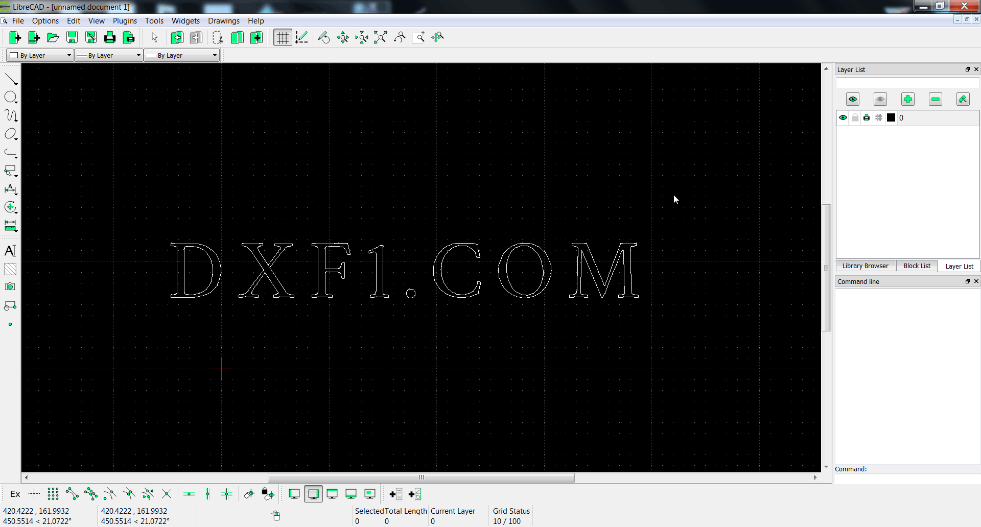Free cad software free dxf files free cad software Free drafting software for windows 10