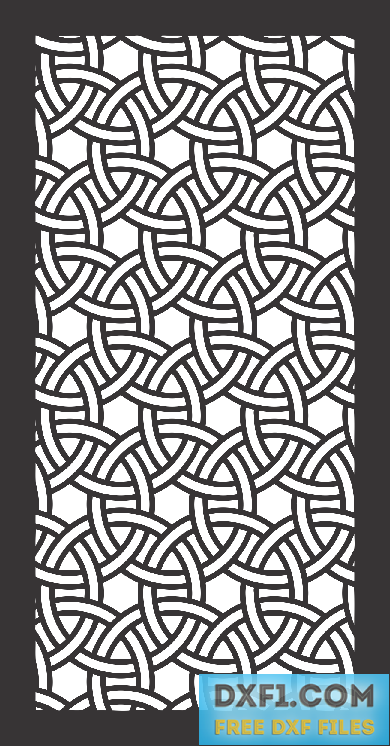 Celtic Knot Privacy Screen Cut File 3 Free Dxf Files