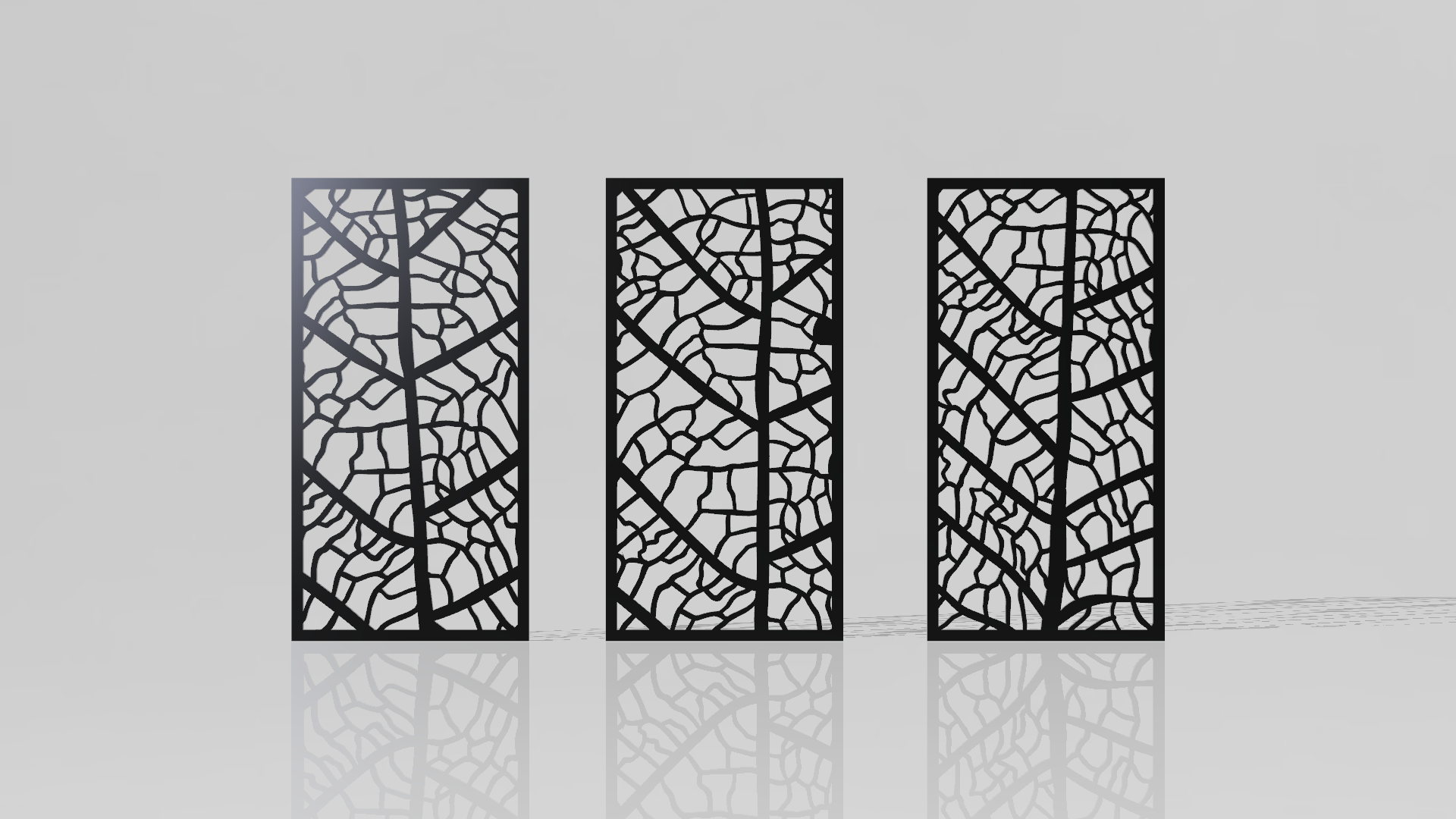 Cut Out Decorative Wall Panels : Leaf panels pack of free dxf files cad software